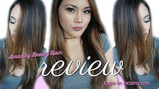 Amazing Beauty Hair Tape-In Extensions Review Balayage B2-6 ♥   itsforeverCLO