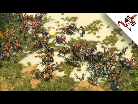 Age of Empires 3 - THE GERMANIC ATTACK | Skirmish Gameplay