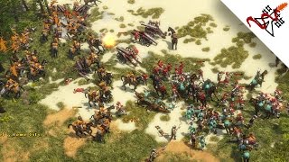 Age of Empires 3 - THE GERMANIC ATTACK   Skirmish Gameplay