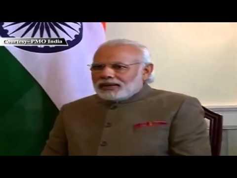 PM Shri Narendra Modi meets John Key, New Zealand PM in Washington