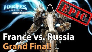 ► EPIC! Heroes of the Storm Nations Cup: France vs. Russia - Grand Final