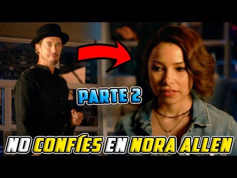 ¡¿NORA ALLEN TRABAJA CON/PARA REVERSE FLASH REVELADO?! ⚡ THE FLASH 5x03 FINAL EXPLICADO