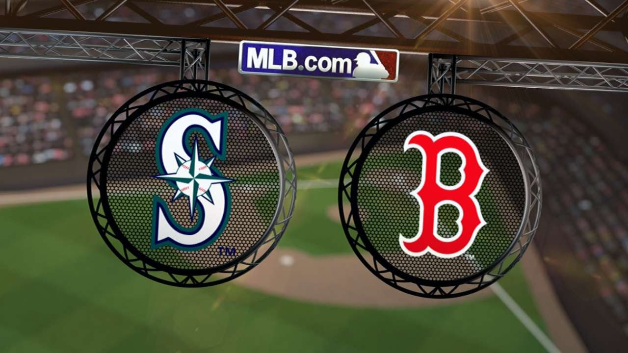 Image result for mariner red sox