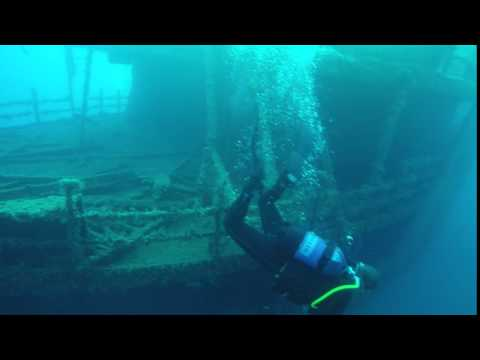 Marius Wurzel Wreck Diving Greece Ship Sunk