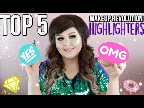 TOP 5 Makeup Revolution Highlighters  Fair Skin
