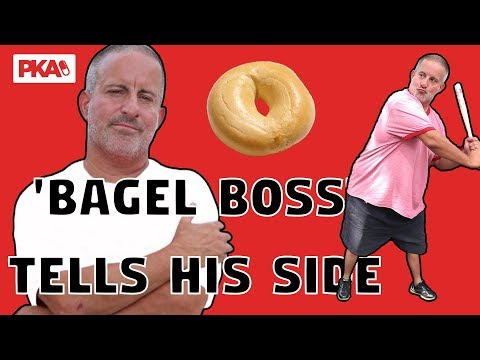 Bagel Boss Chris Morgan tells his side of the story