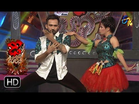 Yashwanth and Priyanka Performance | Dhee Jodi | 8th March 2017 | ETV Telugu