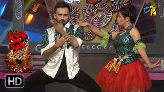 Yashwanth and Priyanka Performance | Dhee Jodi | 8th March 2017 | ETV Telugu