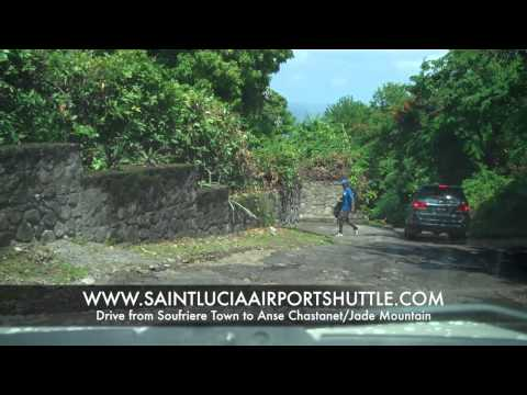 Drive From Soufriere St Lucia to Anse Chastanet Jade Mountain