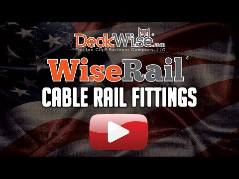 WiseRail® Cable Railing: Fittings/Receivers Differences