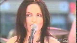 The Corrs- Interview + Breathless- Live GMA March 16 2001