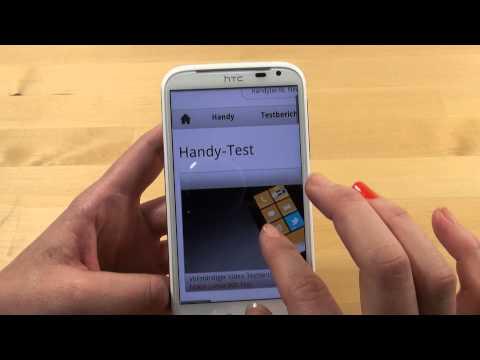 HTC Sensation XL with Beats Audio - Handy Test - Review - Deutsch