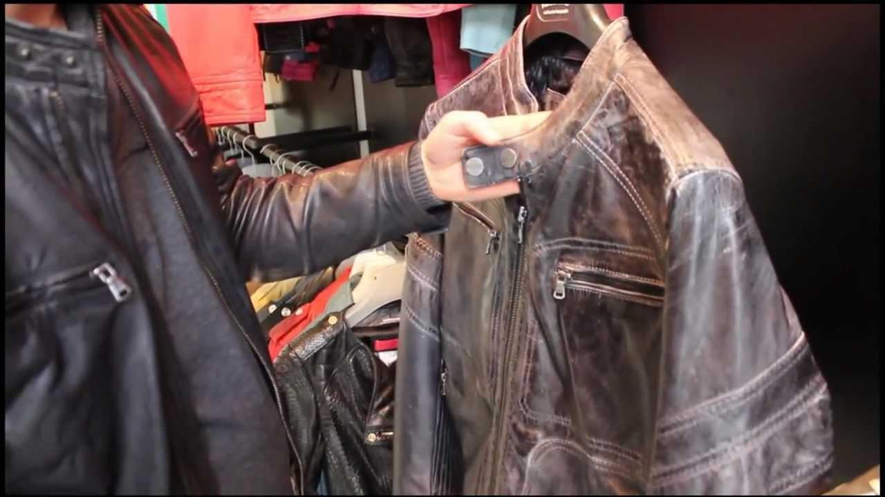 Renover blouson cuir moto