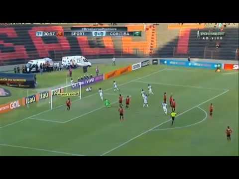 Gol do Coritiba - Amaral Sport 0 x 1 Coritiba - 18 / 09 / 2016