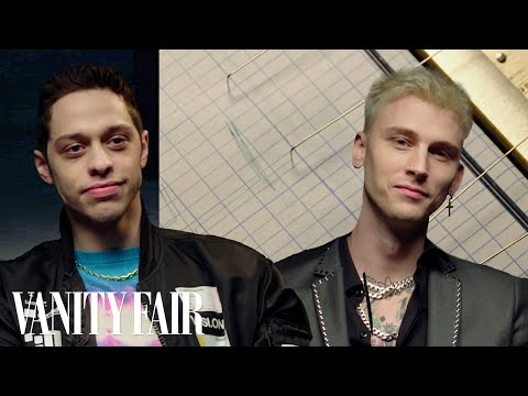 Pete Davidson and Colson Baker (aka Machine Gun Kelly) Take a Lie Detector Test | Vanity Fair