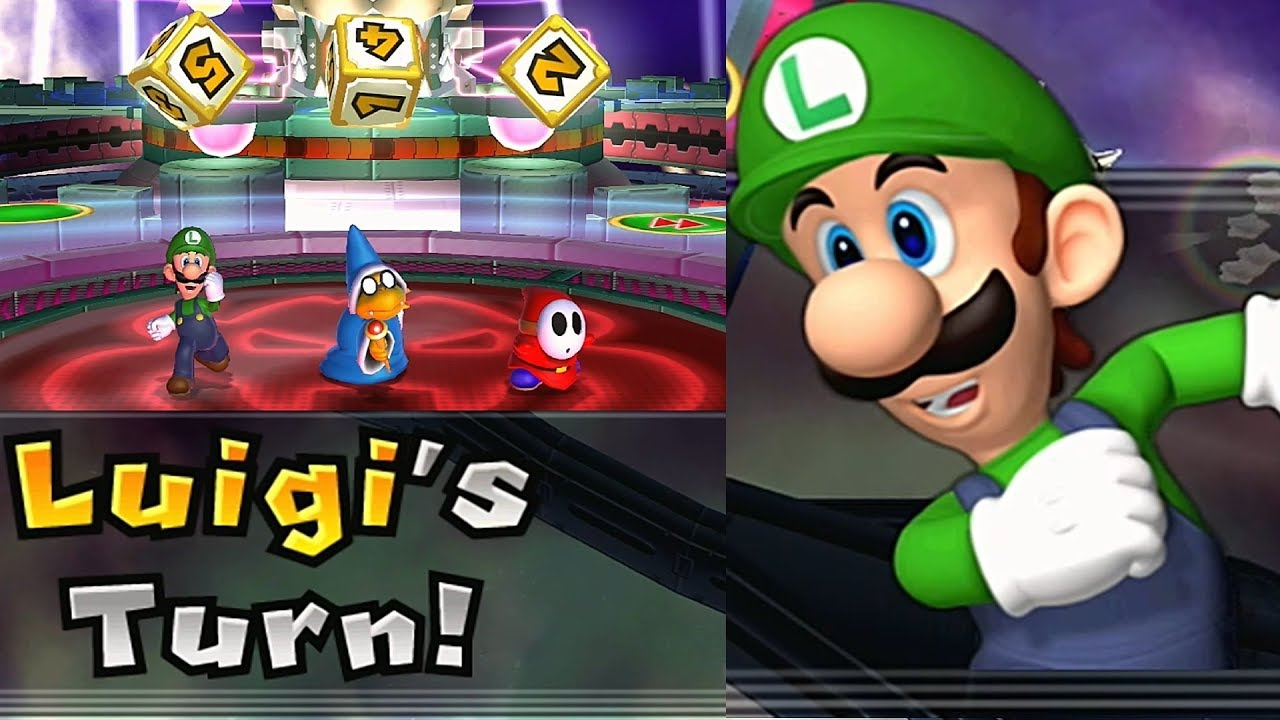 Mario Party 9 Solo Mode Luigi Bowser Station Part 6 219 Youtube