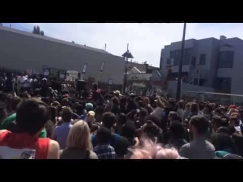 24th & mission protest feat Janelle Monae and Black Lives M