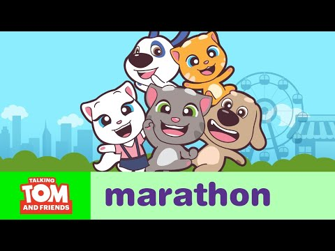 ALL EPISODES - Talking Tom and Friends Minis Marathon