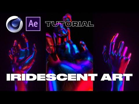 Iridescent Chrome Art In Cinema 4D And Octane [Tutorial]