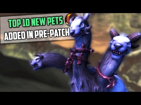 Top 10 New Hunter Pets Tamable In Pre-patch - Shadowlands WoW