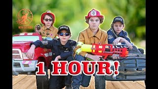 New Sky Kids Little Heroes Rescue Squad Season 1 - The Fire Engine, The Heroes and The Icky Six
