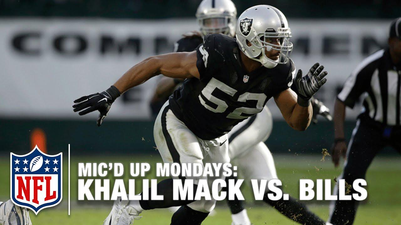 457bbab50 Khalil Mack Mic'd Up Leads Upset vs. Bills (Week 16, 2014) | #MicdUpMondays  | NFL - YouTube