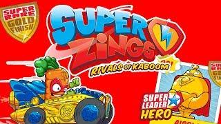 Super Zings • SuperZłoczyńcy i SuperBohaterowie na Toys Land • unboxing