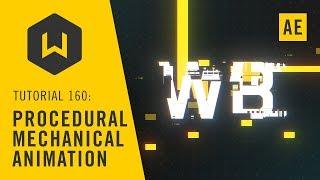 Usul Mekanik Animasyon AE oluşturma usul mekanik hareketi - Öğretici 160:
