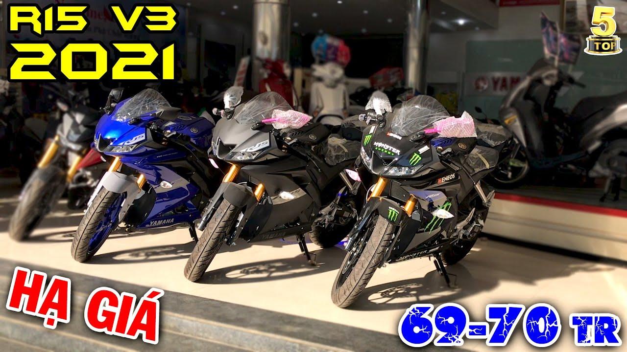 """Yamaha R15 V3 2021 """"TUYỆT ĐỈNH"""" ▶️ Chỉ 69 - 70 triệu 1 em R15 V3 2021 🔴 TOP 5 ĐAM MÊ"""