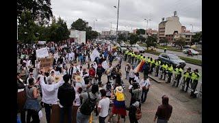 Con marchas en varias ciudades, oposición da la 'bienvenida' al presidente Duque   Noticias Caracol