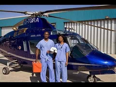 Nikiwe meets the Founder of Flying Doctors Nigeria