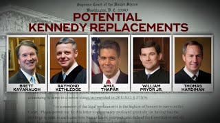 Supreme Court: Who will replace Justice Anthony Kennedy?