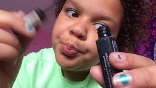 ASMR mean older sister does your makeup (role-play) thumbnail