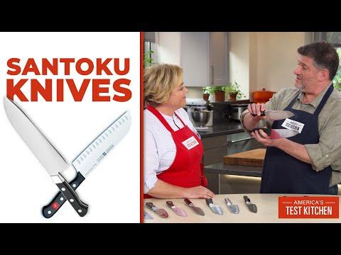 The Best Santoku Knives