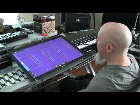 Jordan Rudess and Morphwiz on the Lenovo A720 with Windows 8