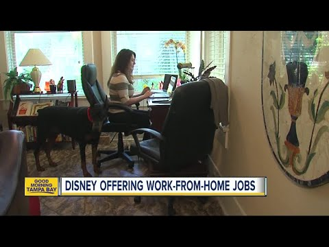 Disney Offering Work-from-home Job Opportunities