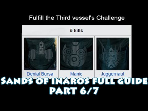 Sand Of Inaros - Phase 6 - Fulfill the third vessel's challenge - Manic (fast clear)