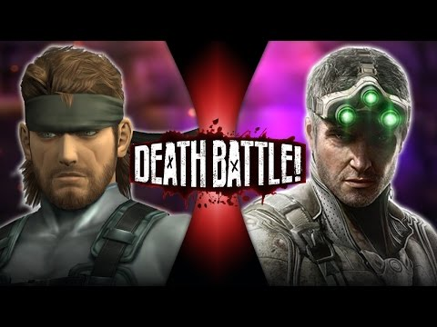 Solid Snake VS Sam Fisher | DEATH BATTLE!