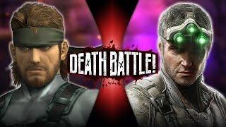 Solid Snake VS Sam Fisher (Metal Gear VS Splinter Cell) | DEATH BATTLE! thumbnail