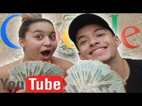 Our First YouTube Paycheck! | I QUIT MY JOB FOR YOUTUBE!?