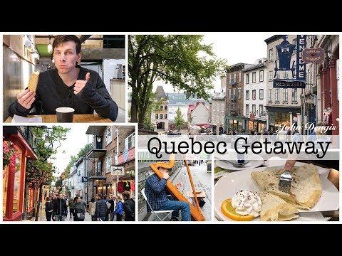Quebec City Getaway + Vlog | John Dengis