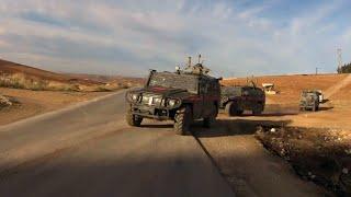 На севере Сирии российские и турецкие военнослужащие провели очередное патрулирование.