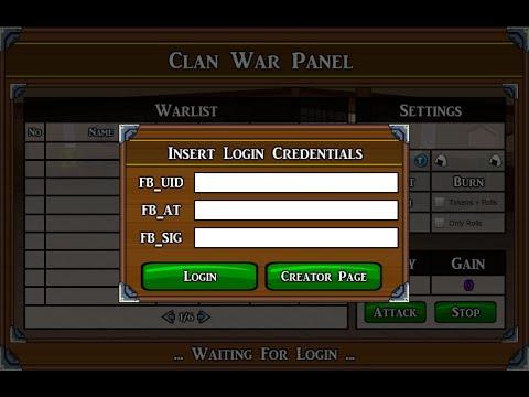Ninja Saga New CP War Panel Version Desktop [ 100% Working ] #July | 2017