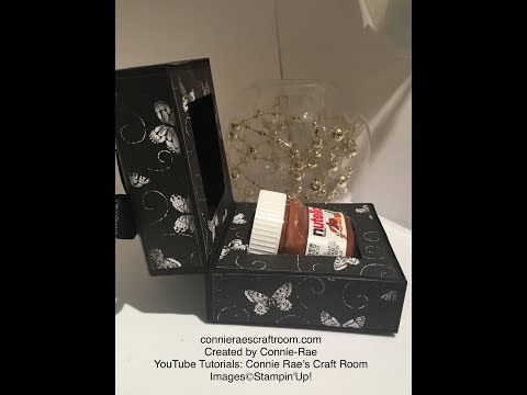 Stampin' Up! with Connie-Rae: Mini Nutella Jar Gift Box with Inserts