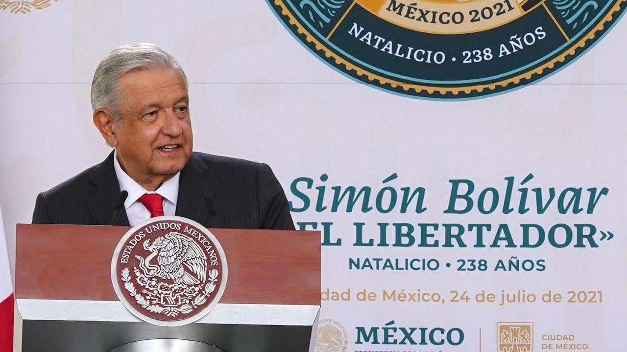 Download Discurso en el 238 Aniversario del Natalicio de Simón Bolívar