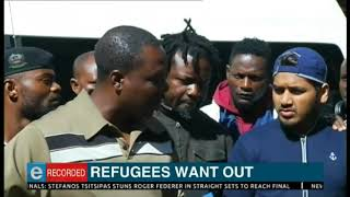 Refugees want out