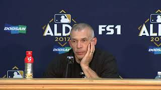 Joe Girardi on advancing to the ALCS against the Astros