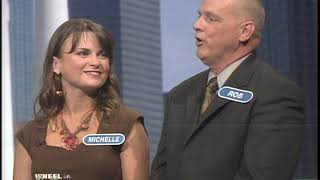 Michelle and Rob - Wheel of Fortune Family Week Part 1