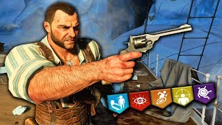 """VOYAGE OF DESPAIR """"EASTER EGG"""" YIKES RUN w/ A MAN WHO'S ONLY PLAYED IX!! (Black Ops 4 Zombies)"""