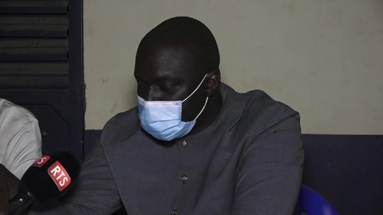 "Vidéo - Abdou Karim Fofana à Ndengler: ""Je ne vous ai jamais demandé de laisser vos terres..."""
